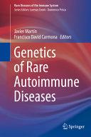 Genetics of Rare Autoimmune Diseases PDF