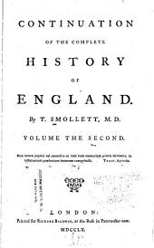 Continuation of the Complete History of England: Volume 2