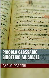 Piccolo Glossario Sinottico Musicale