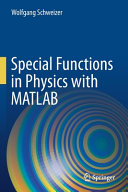 Special Functions in Physics with MATLAB PDF