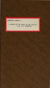 A report of the trial of the case of H.R. & J. Reynolds, vs. the Mayor and City Council of Baltimore: before the Honorable, the judge of the Superior Court of Baltimore City, Z. Collins Lee : counsel for the plaintiffs, Wm. Schley, Esq., Hon. Reverdy Johnson : counsel for the defendants, Archibald Stirling, Esq., city counsellor, Grafton S. Dulany, Jonathan Meredith, Esqs. : July, 1859