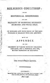 Religious Courtship     The twenty first edition PDF
