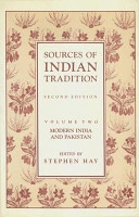 Sources of Indian Tradition  Modern India and Pakistan PDF