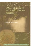 J M G  Le Cl  zio Et la M  taphore Exotique PDF