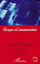 Corps et immersion