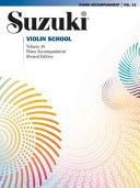 Suzuki Violin School, Vol 10