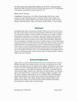 The Road Ahead  Agricultural Policy Reform in the WTO   Summary Report  Market and Trade Economics Division  Economic Research Service  U S  Department of Agriculture  Agricultural Economic Report No  797  PDF