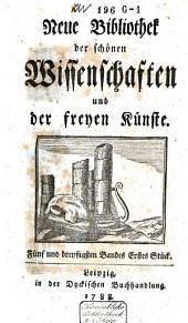 Bibliothek der schönen Wissenschaften und der freyen Künste: Band 14