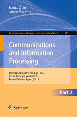 Communcations and Information Processing