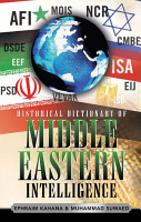 Historical Dictionary of Middle Eastern Intelligence PDF