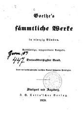 Sämmtliche Werke: in vierzig Bänden, Band 33