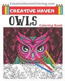 Creative Haven Owls Coloring Book