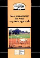 Farm Management for Asia PDF