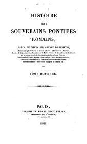 Histoire des souverains pontifes romains: Volume8