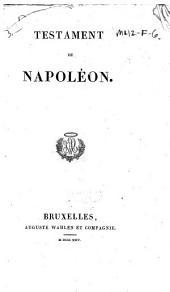 Testament de Napoléon