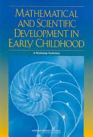 Mathematical and Scientific Development in Early Childhood PDF