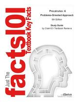 Precalculus, A Problems-Oriented Approach: Edition 6