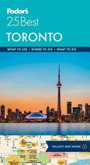 Fodor s Toronto 25 Best PDF