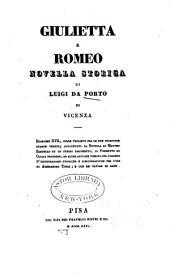 Giulietta e Romeo: novella storica
