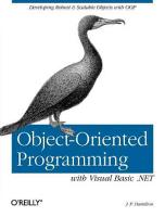 Object oriented Programming with Visual Basic  NET PDF