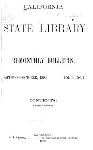 Bi monthly Bulletin