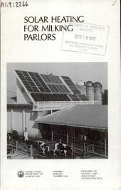 Solar heating for milking parlors