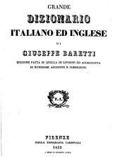 Grande dizionario italiano ed inglese: Volume 1