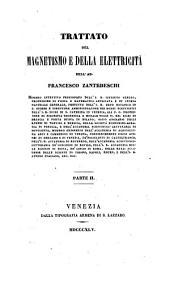Trattato del Magnetismo e della Elettricità: II