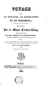 Voyage dans le Timanni, le Kouranko et le Soulimana, contrées de l'Afrique occidentale, fait en 1822
