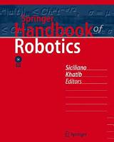 Springer Handbook of Robotics PDF