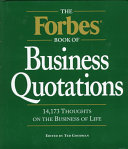 Forbes Book of Business Quotations