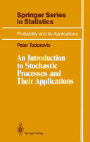 An Introduction to Stochastic Processes and Their Applications PDF
