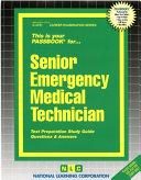 Senior Emergency Medical Technician PDF