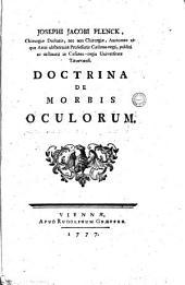 Josephi Jacobi Plenck ... Doctrina de morbis oculorum