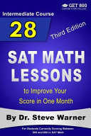 28 SAT Math Lessons to Improve Your Score in One Month   Intermediate Course PDF
