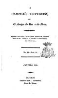 O Campe  o Portuguez  ou O amigo do rei e do povo PDF