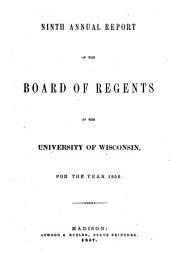 Biennial Reports of the Regents