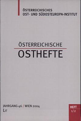 sterreichische Osthefte PDF