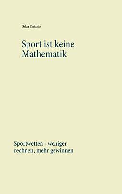 Sport ist keine Mathematik PDF