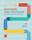 Loose Leaf for Matching Supply with Demand Book