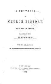 A Text-book of Church History: Volume 4