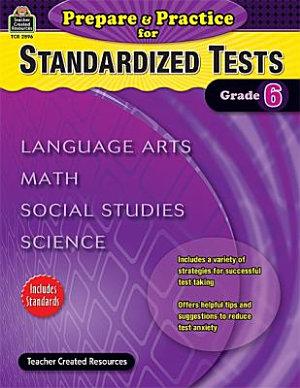 Prepare Practice For Standardized Tests Grade 6
