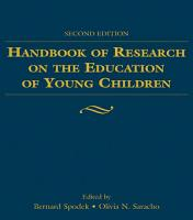 Handbook of Research on the Education of Young Children PDF