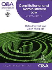 Q&A Constitutional & Administrative Law 2009-2010: Edition 6