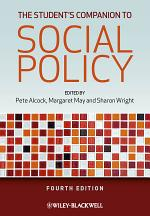 The Student's Companion to Social Policy