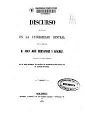 El racionalismo y el socialismo son frutos espontaneos del protestantismo: discurso leído en la Universidad Central en el solemne acto de recibir la investidura de Doctor en Teología