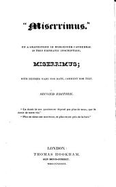'Miserrimus' [by F.M. Reynolds].