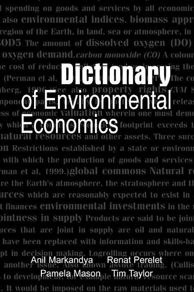 Download Dictionary of Environmental Economics Book