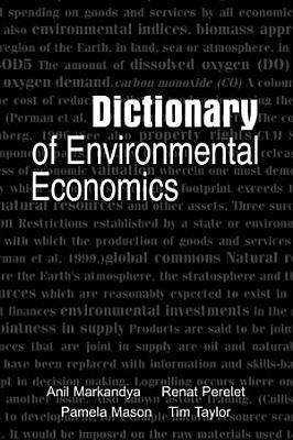 Dictionary of Environmental Economics PDF