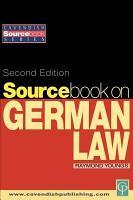 Sourcebook on German Law PDF
